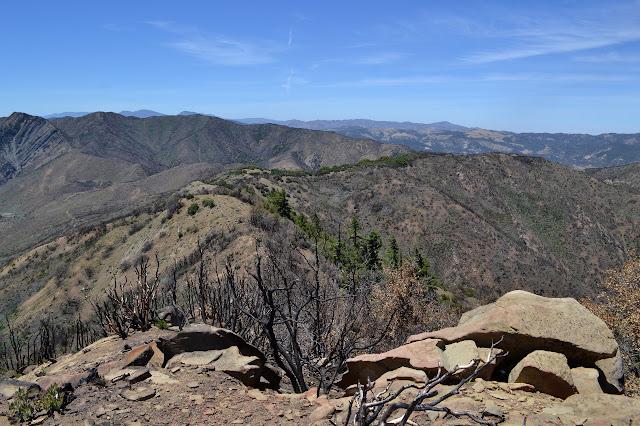 a ridge line