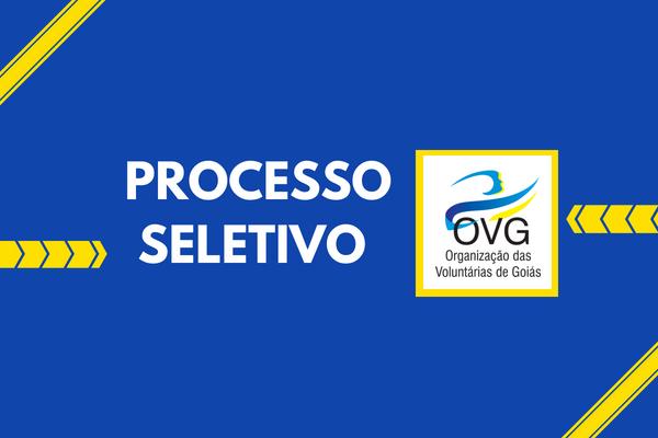 Concurso OVG - Organização das Voluntárias de Goiás