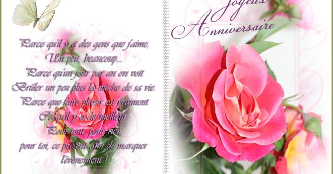 Carte Anniversaire Fille Gratuite
