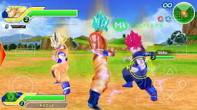 Game Dragon Ball Z Tenkaichi Tag Team MOD Ultra V6