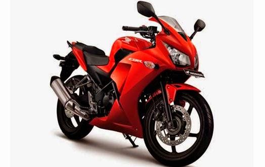 Honda CBR250R Red