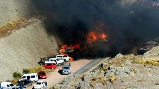 Hubo dos focos y las autoridades de la provincia denunciaron que se trató de un hecho intencional. No se registraron heridos