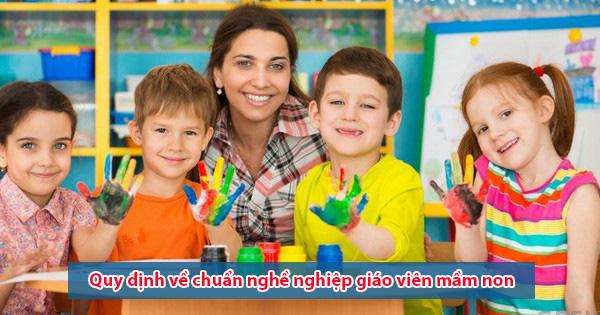 Tài liệu chuẩn nghề nghiệp giáo viên mầm non