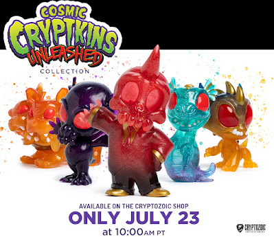 SDCC 2021 Cryptozoic Cryptkins Unleashed Cosmic Collection Vinyl Figures 01