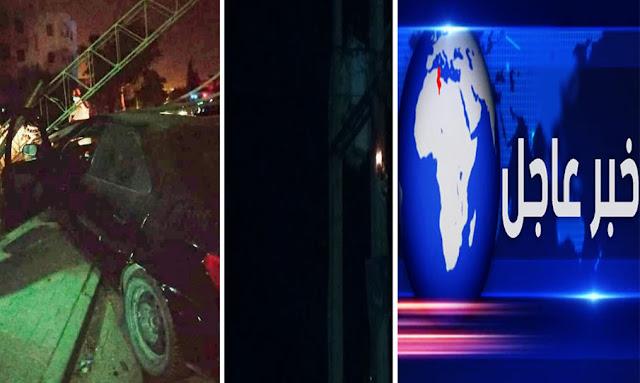 حادث خطير جدا يتسبب في انقطاع الكهرباء على أحياء المنزه والعمران وحي الانطلاقة