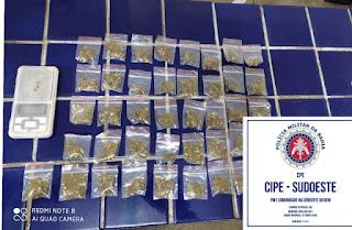 Homem é detido acusado de tráfico de drogas em Livramento de Nossa Senhora