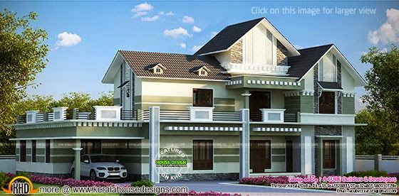 Luxurious house plan