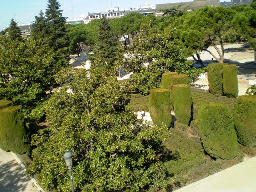 Real Jardin Botánico Madri Espanha