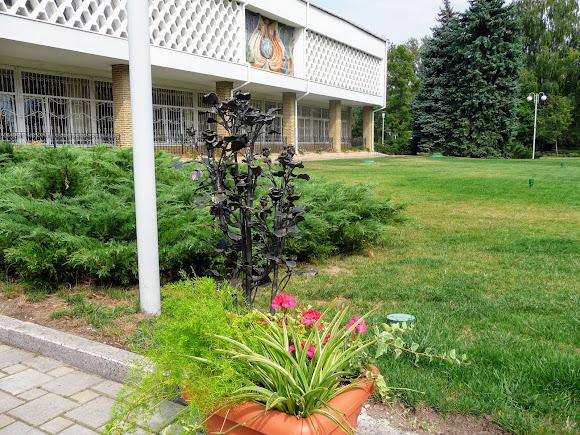 Донецк. Ботанический сад. Кованые букеты