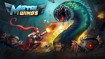 تحميل اقوى لعبة اكشن للاندرويد Metal Wings مجانا