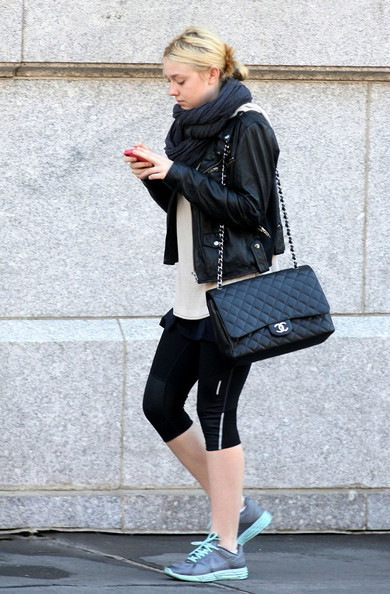 814986b5aa Coveting Wednesdays  Dakota Fanning Handbags.  All photos from people style  watch