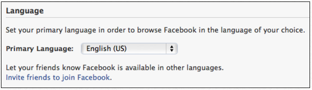 How To Get Facebook Back To English