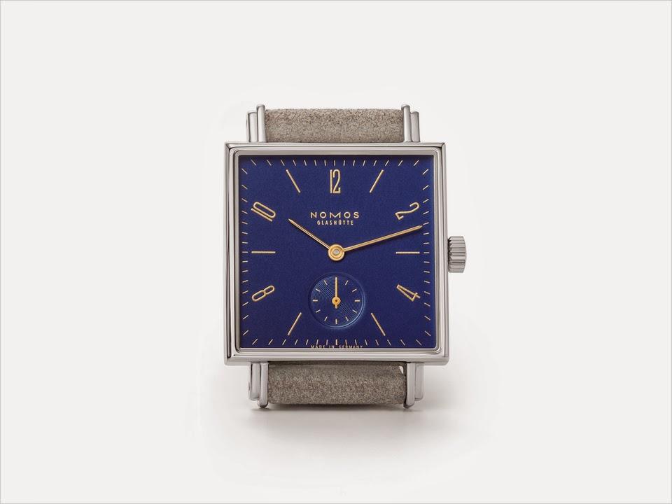 4d72a4e91213 Сегодня, НОМОС Гласхютте объявил, что они выпустят новый тематический набор  часов в пределах своей квадратной формы Tetra коллекции на выставке часы  2014 в ...