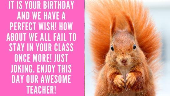 Birthday Funny Wishes