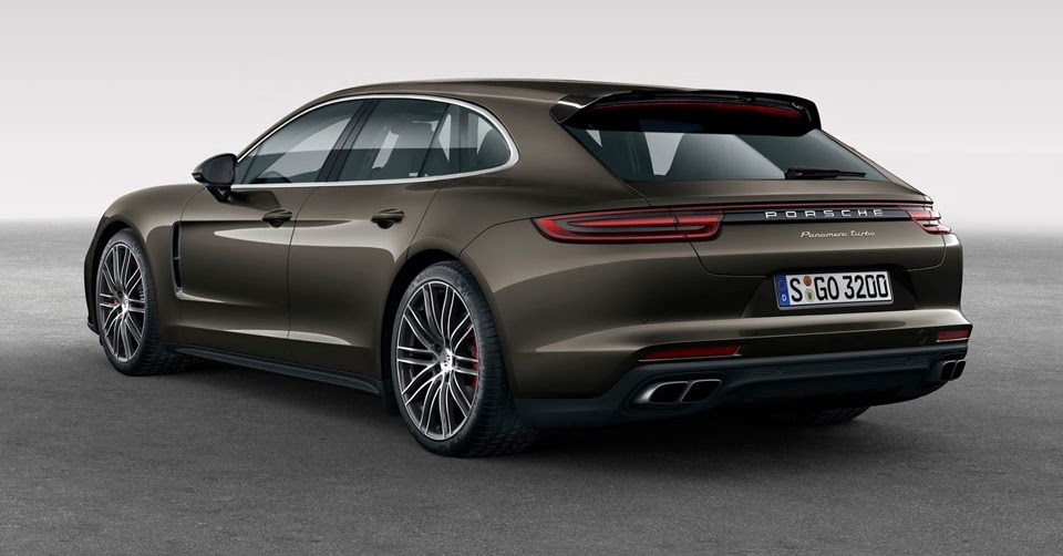 New 'Shooting Brake' Porsche Panamera Sport Turismo To ...