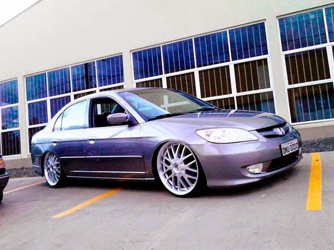 Honda Civic Rebaixado Top Rodas 20""