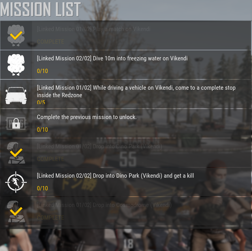 PUBG Vikendi Pass Missions (PC) ~ Pinoy Game Store - Online