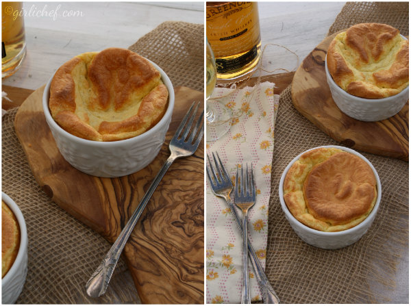 Irish Cheese Soufflés