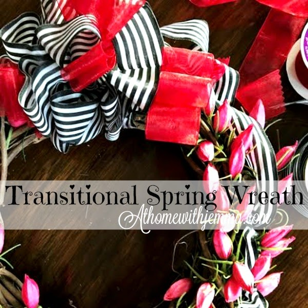 How To Make A Transitional Spring Wreath