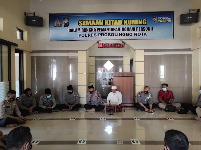 Polda Jatim dan Polres Jajaran Serentak Ngaji Kitab Kuning bersama PWNU dan PCNU se-Jatim