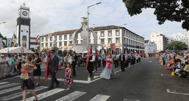 Feast of The Holy Ghost in Azores, Portugal