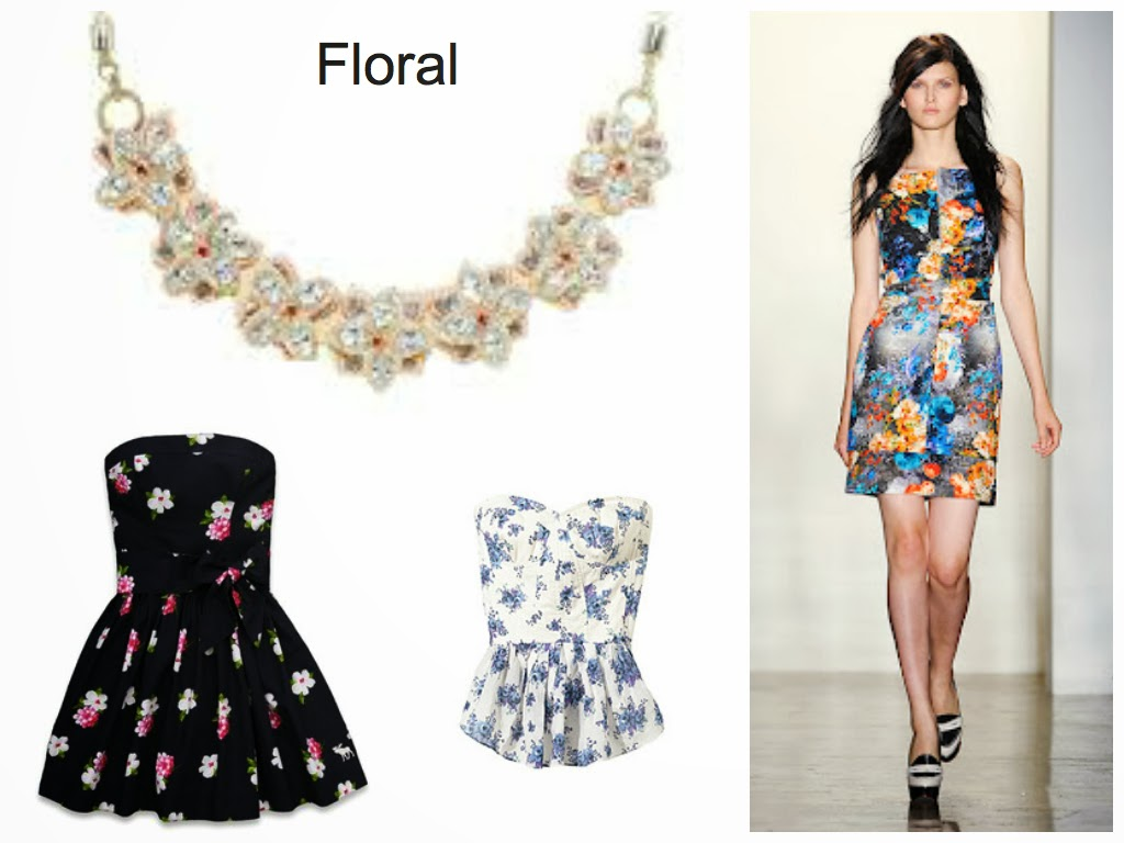 floral spring fashion trend