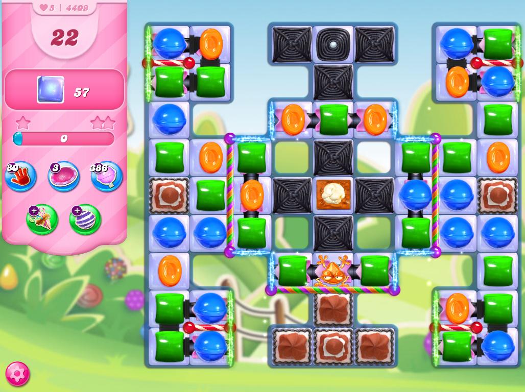 Candy Crush Saga level 4409