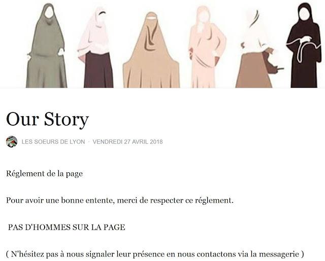 """Règlement de la page Facebook des """"soeurs de lyon"""""""