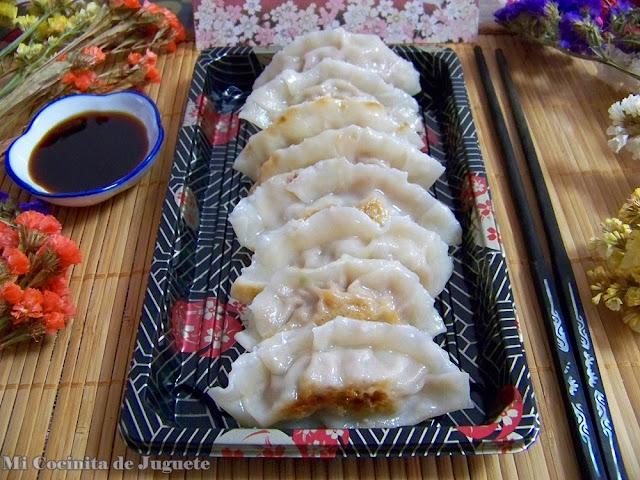 Gyoza (Empanadillas Japonesas)