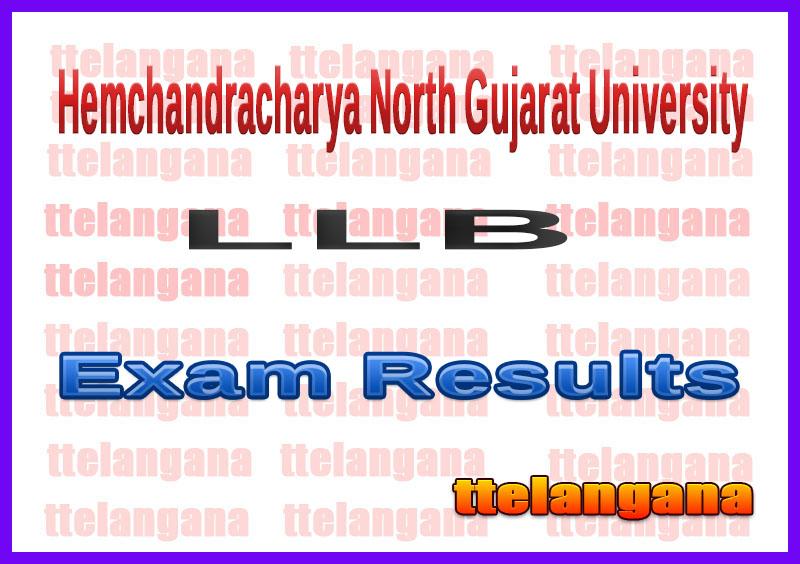 Hemchandracharya North Gujarat University LLB Exam Results