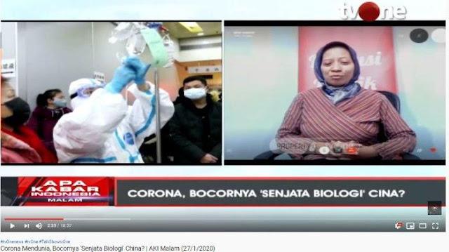 Virus Corona Dirumorkan karena 'Senjata Biologis' China Bocor, Pakar Biologi Beri Peringatan Begini