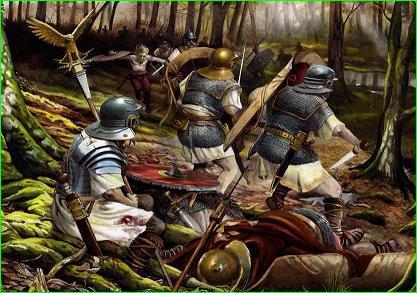 Outeiral, Águila, Arminio, desastre, Varo, legiones, romanos, germanos, bosque, Teutoburgo, Saltus, Teutoburgiensis, Kalkriese, Roma, Germania