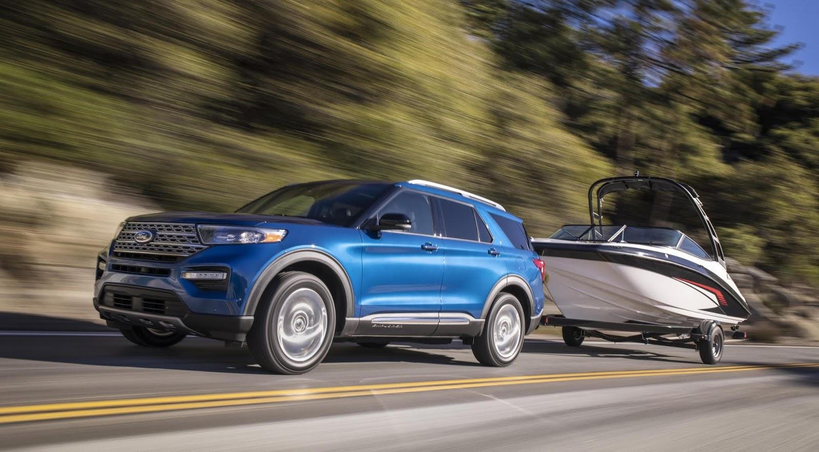 Ford Explorer ST: más potente y divertida