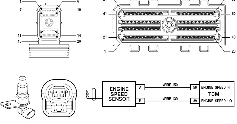 DTC P0726/ P0727 Engine Speed Sensor Circuit Performance