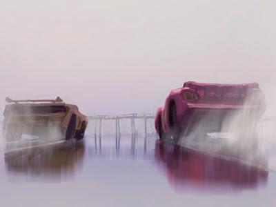 Primeras imágenes de arte conceptual y nuevos detalles de 'Cars 3'