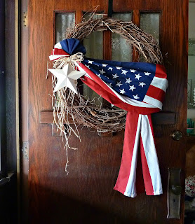 Old Glory Cottage: HURRAY FOR THE RED, WHITE & BLUE!