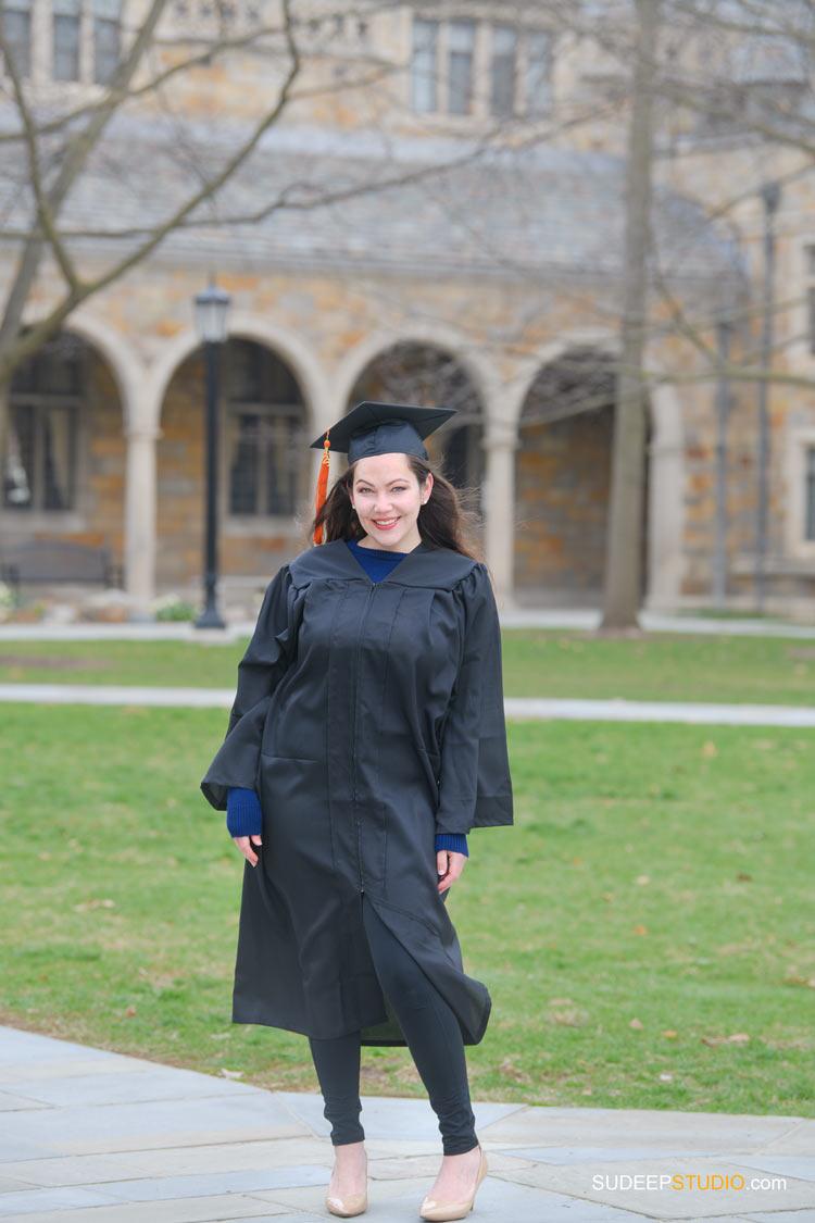 University of Michigan Graduation Portraits on Campus by SudeepStudio.com Ann Arbor Graduation Portrait Photographer
