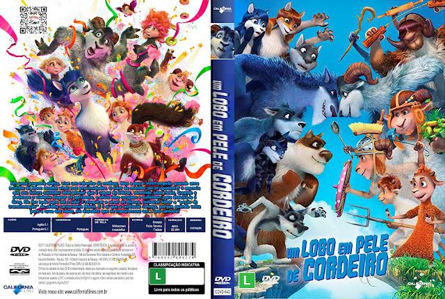 Capa DVD Um Lobo em Pele de Cordeiro [Custom]