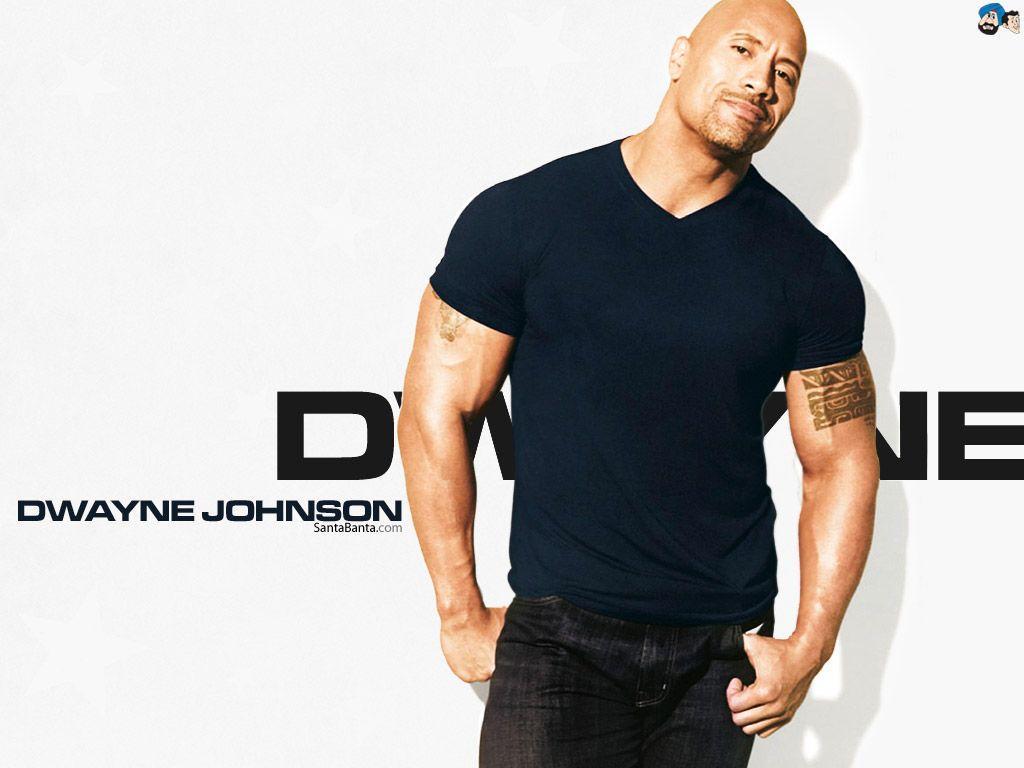 Dwayne Jhonson Handsome Look