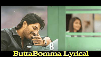 ButtaBomma Lyrical || Allu Arjun || Trivikram | Thaman S |#AA19 | Telugu