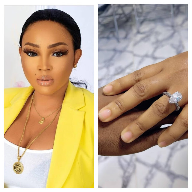 Nollywood actress Mercy Aigbe is engage(Video)