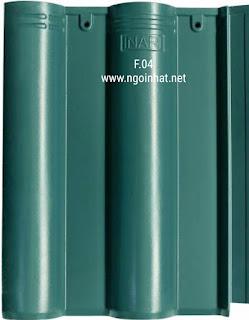 Ngói màu xanh rêu