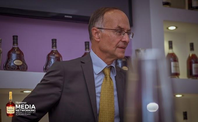 Hennessy Global ambassador Guillaume de Guiteau visits Ghana