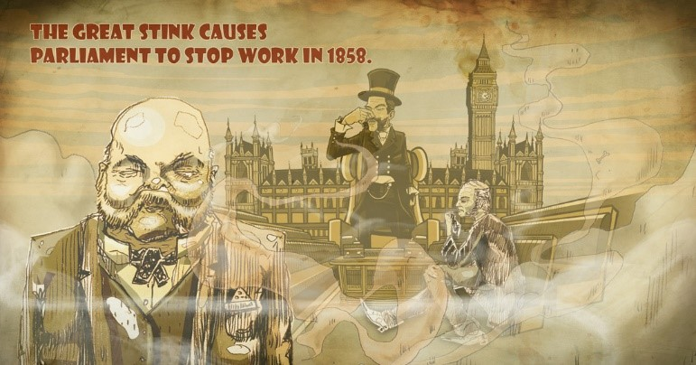 Image result for Great Stink of 1858