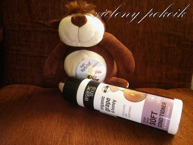 Kosmetycznie: Organic Shop - Organiczny balsam do włosów - Winogronowy miód. Hit?