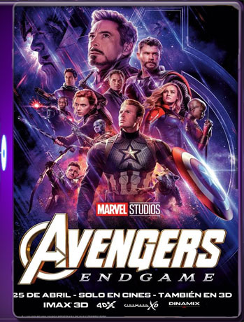 Avengers: Endgame (2019) HD [1080p-60fps] Latino Dual [GoogleDrive] TeslavoHD