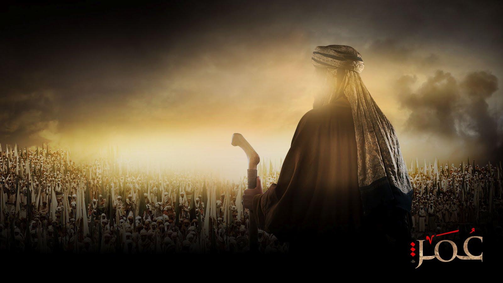 Wallpaper Umar Bin Khattab