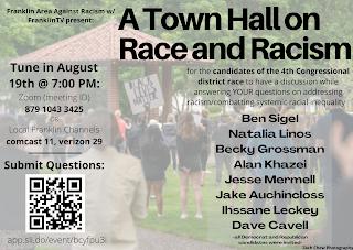Virtual Town Hallon  Race and Racism - Aug 19