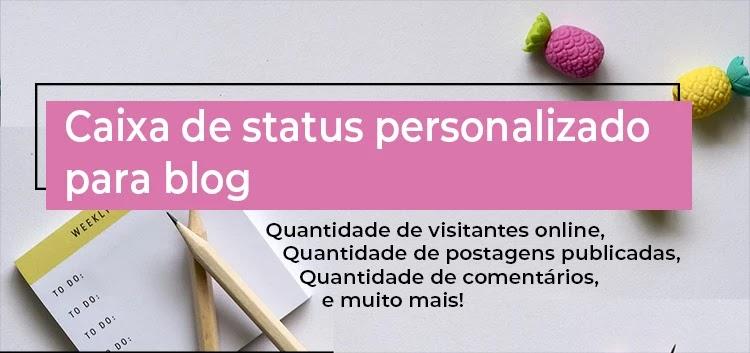 status personalizado