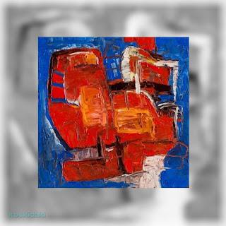 Έργο ζωγραφικής της Evgeny Yakovlev (Red cat - Κόκκινη γάτα/-ος, λάδι)